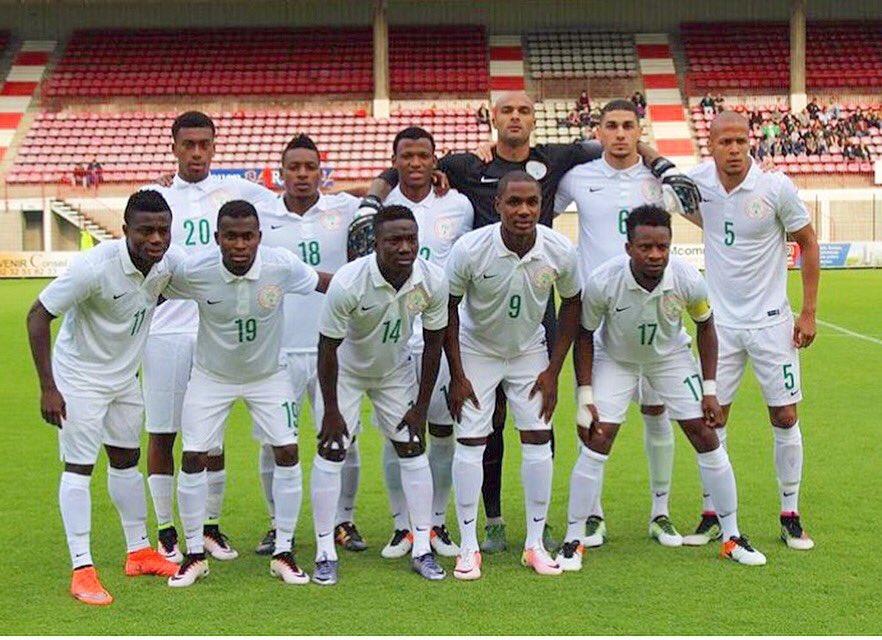 Iwobi, Balogun, Ekong Celebrate Eagles Win Vs Mali