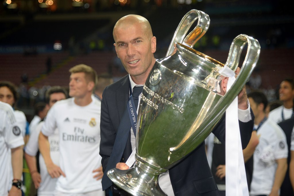 Oliseh Hails Ex-Teammate Zidane After UCL Triumph