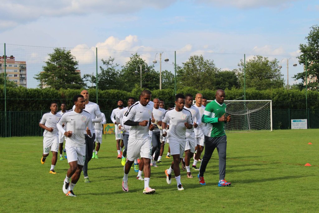 New Nike Jersey For Rio Unveiling As Eagles Land In Luxemburg