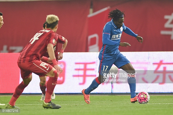 Martins Bags Brace To Open Shanghai Goal Account