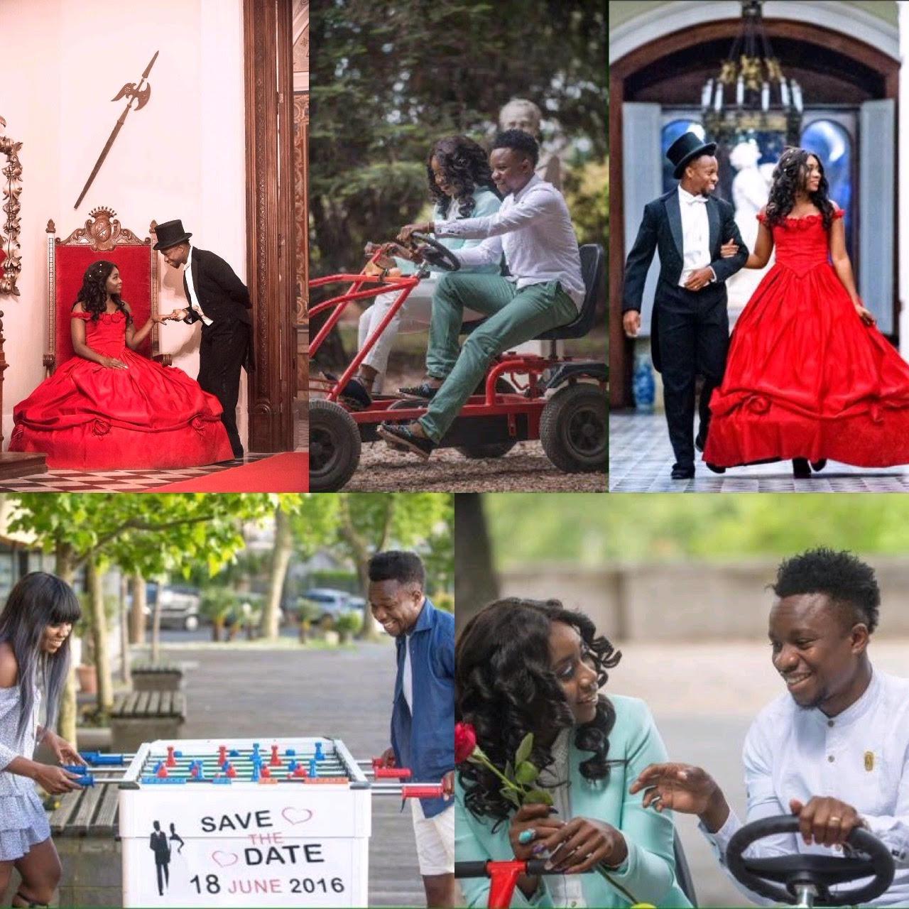 Social Media Agog With Onazi, Fiancée's Pre-Wedding Photos