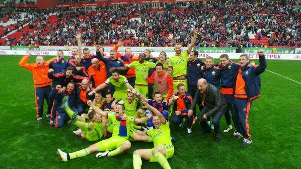 CHAMPIONS! Musa's CSKA Moscow Win Russian League
