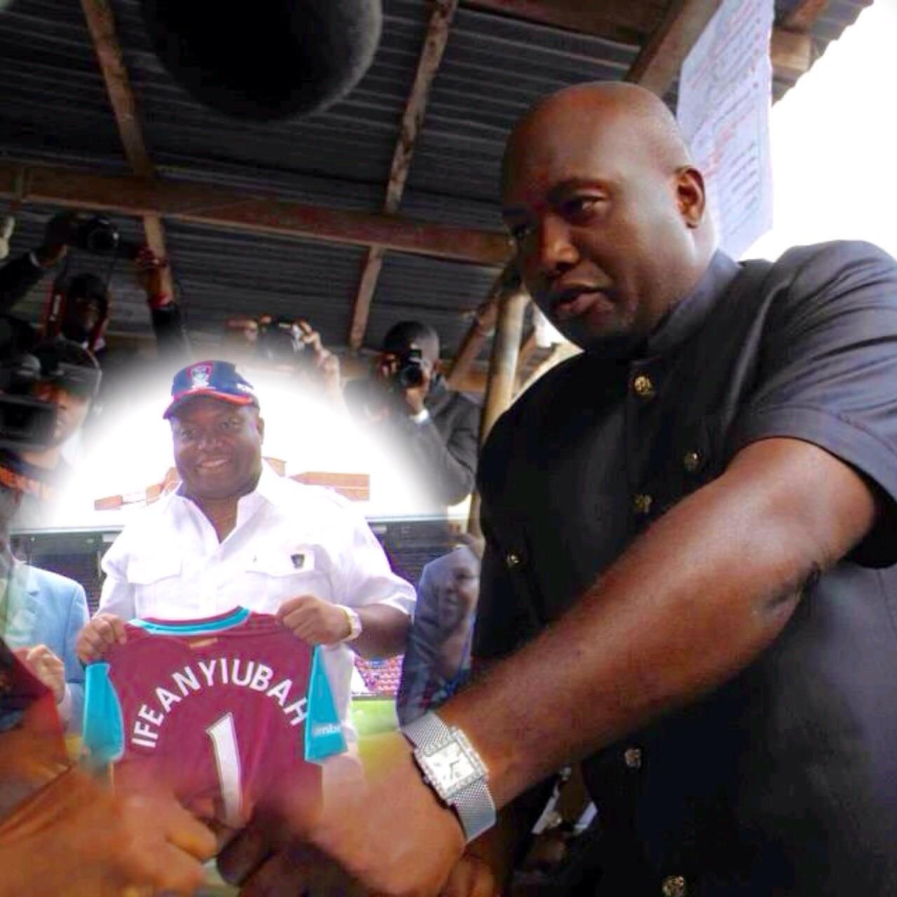 Ifeanyi Ubah Emerges New Anambra FA Chairman