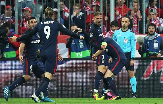 Away Goal Seals UCL Final Slot For Atletico Madrid