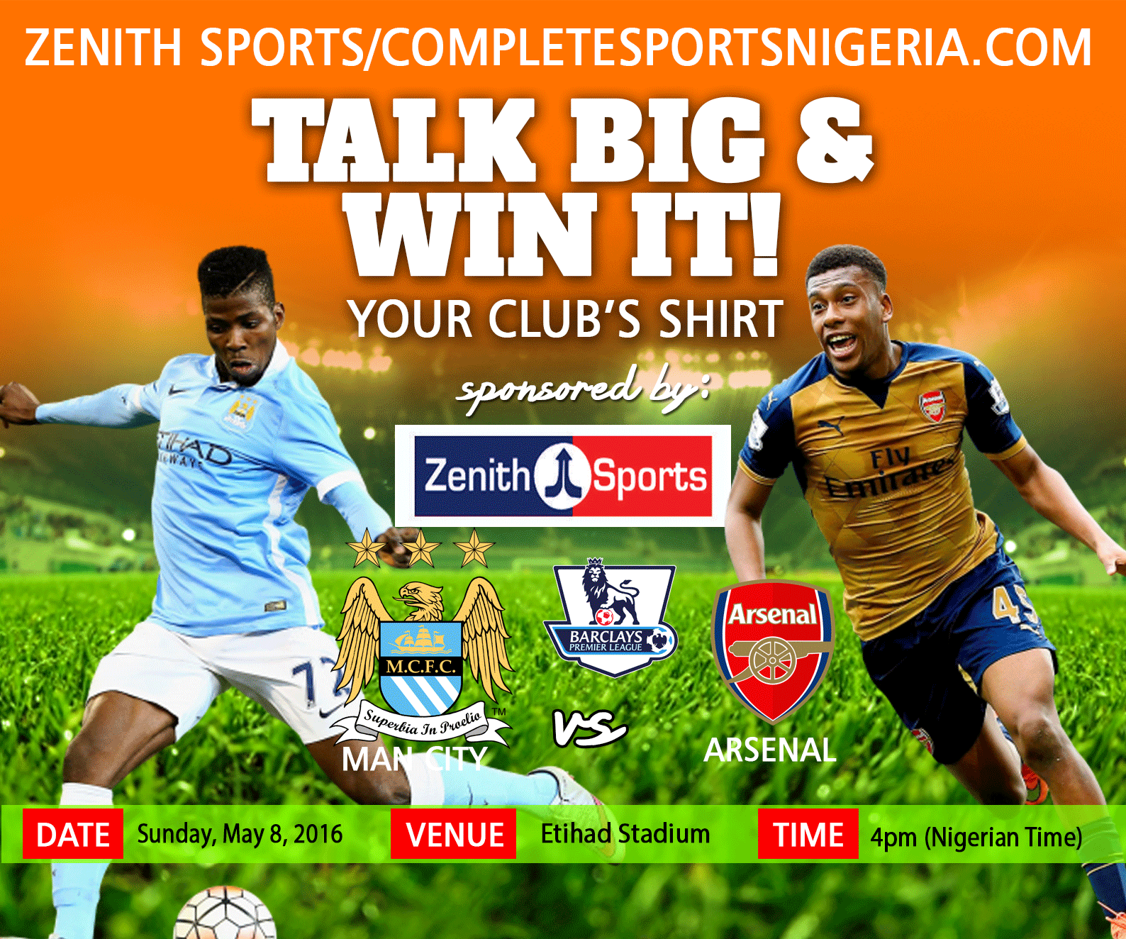 The Winners: Manchester City Vs Arsenal Talk Big & Win It!