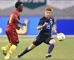 Nigeria Olympic Foes Japan Thrash Ghana In Friendly