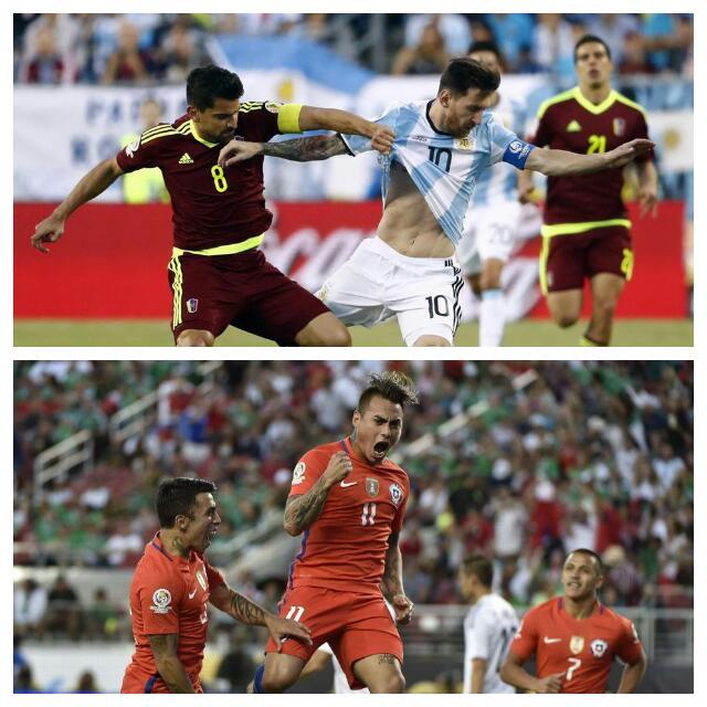 Copa America: Messi Equals Batistuta Argentina Record, Chile Dismantle Mexico