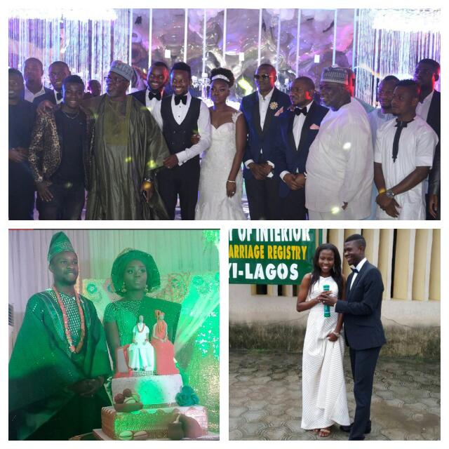 HAPPY MARRIED LIFE: 5 Nigerian Players Who Recently Became Husbands