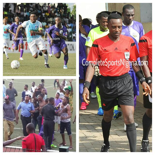 NFF Retire MFM Vs 3SC Referee Over Incompetence