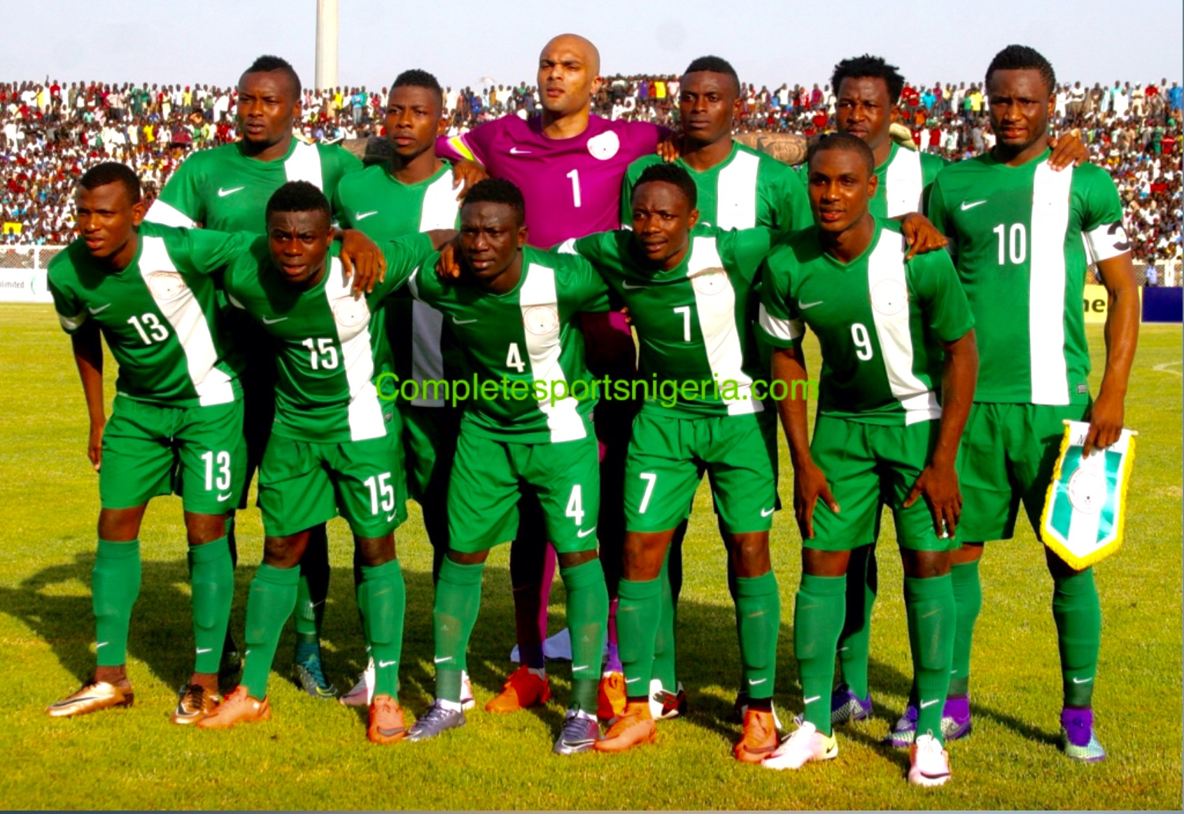 World Cup Qualifiers: Super Eagles Vow To Survive 'Group Of Death'