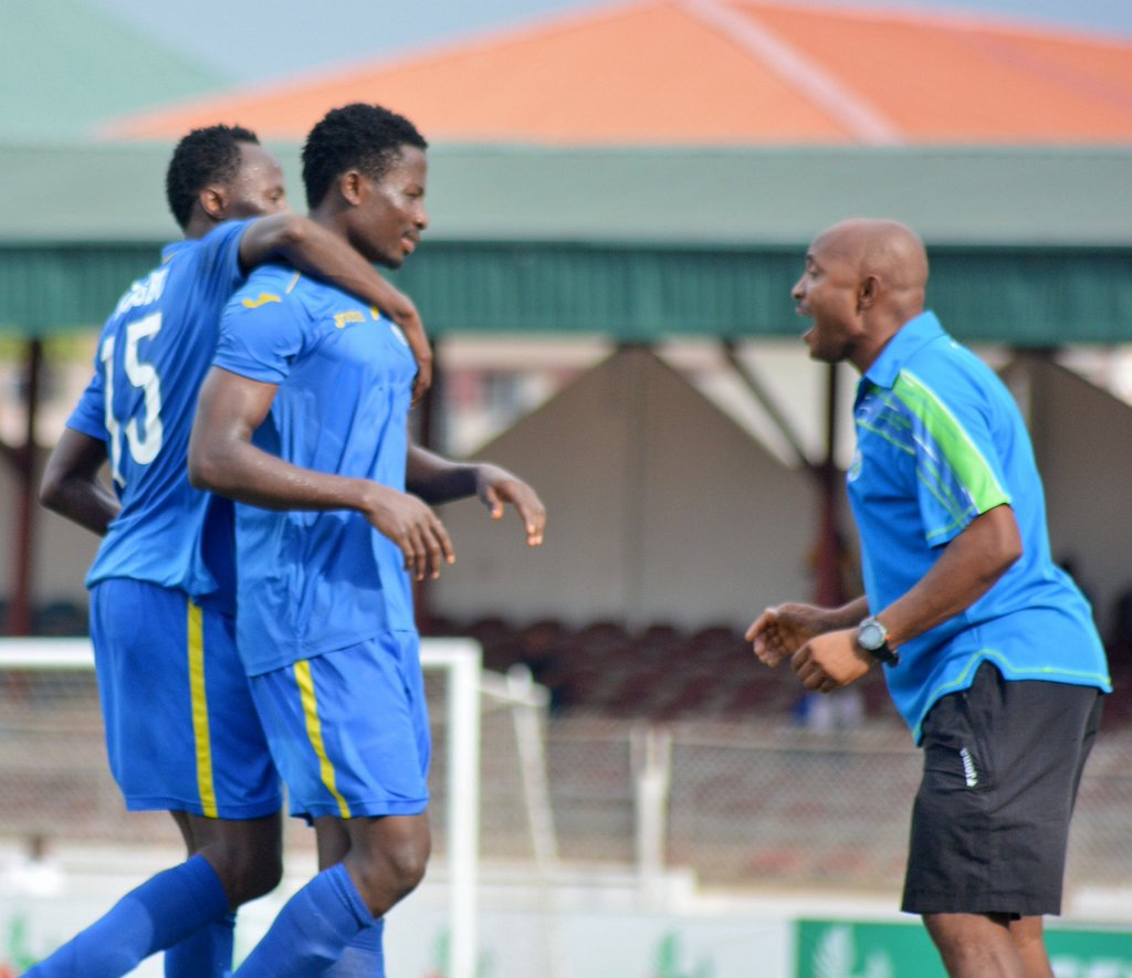 Enyimba's Ojo Happy Winless Streak Is Over, Eyes Sundowns Win