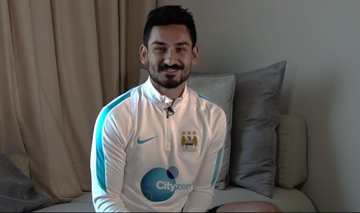 Man City Make £20m Gundogan Guardiola's First Signing