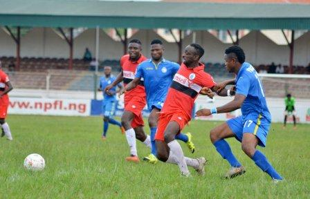 NPFL: Rivers United Stop Enyimba In Umuahia