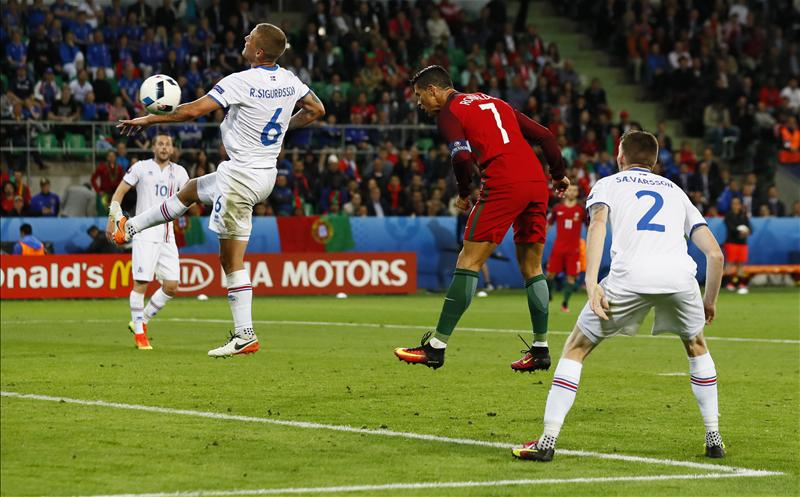 Euro 2016: Ronaldo Struggles As Minnows Iceland Hold Portugal