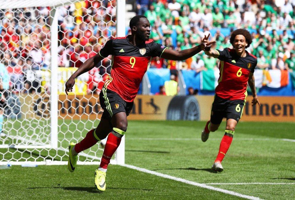 Lukaku Bags Brace As Belgium Trounce Ireland