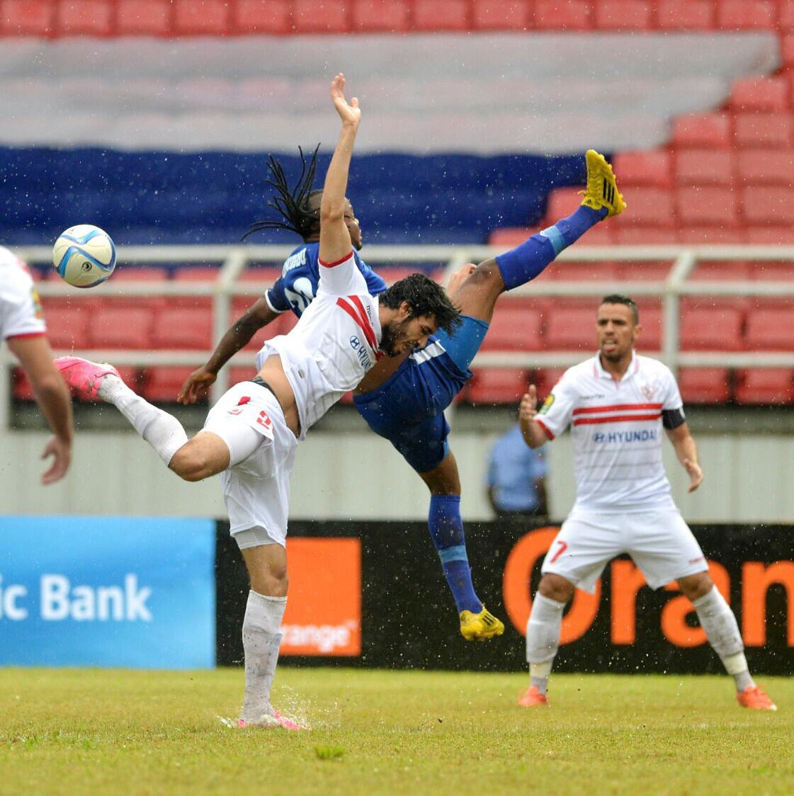 CAF CL: Zamalek Stun Enyimba In Port Harcourt