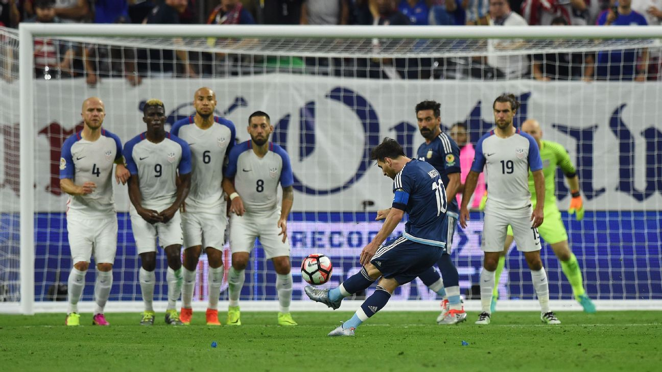 Messi Breaks Goals Record As Argentina Reach Copa Final