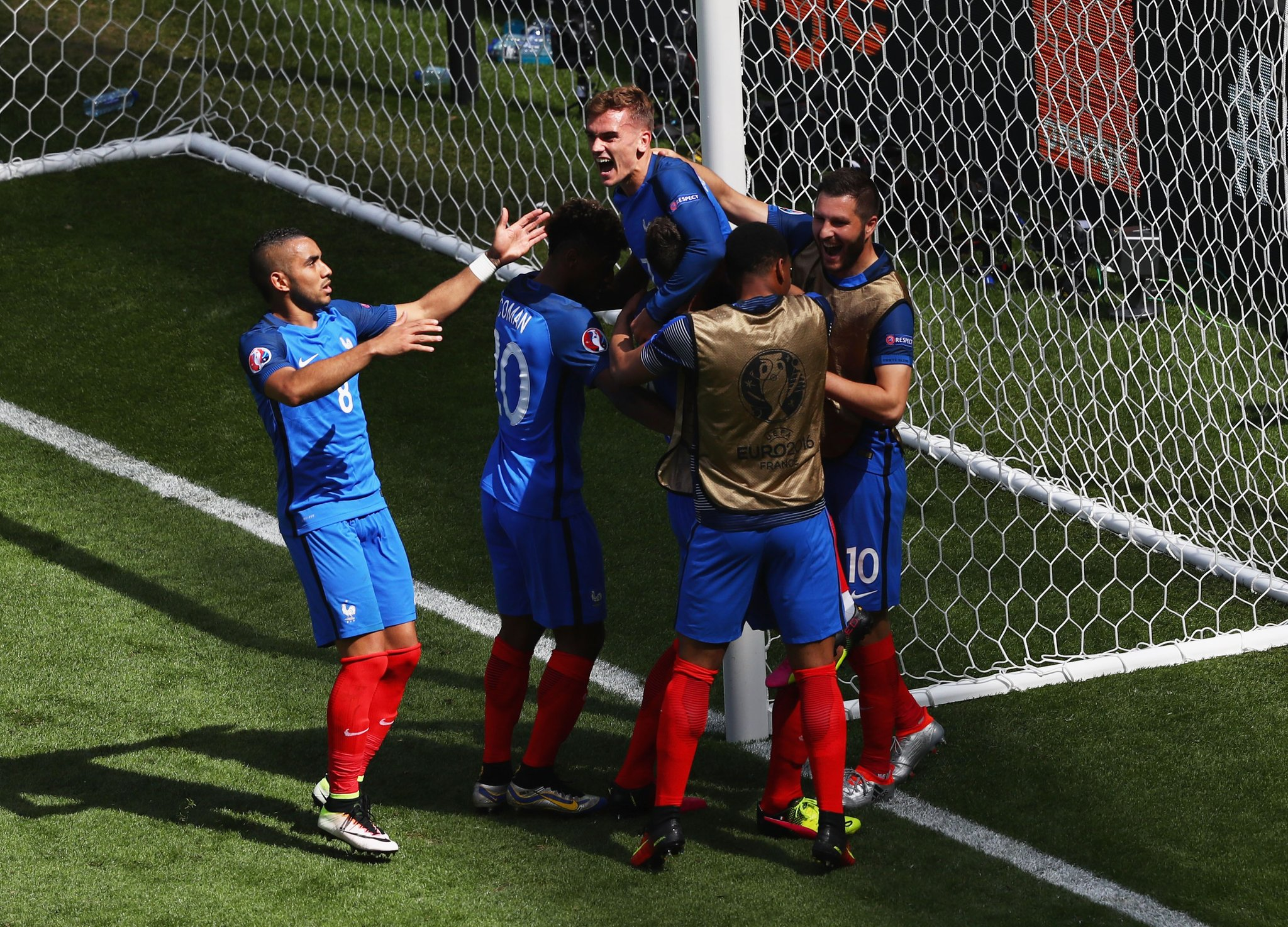 Griezmann Double Sends France To Q/Finals Over Ireland