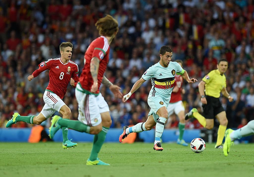 Hazard Sparkles As Belgium Ease Past Hungary Into Q/Finals