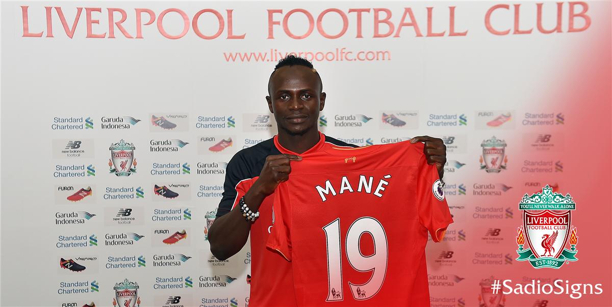 Liverpool Seal Saido Mane Move