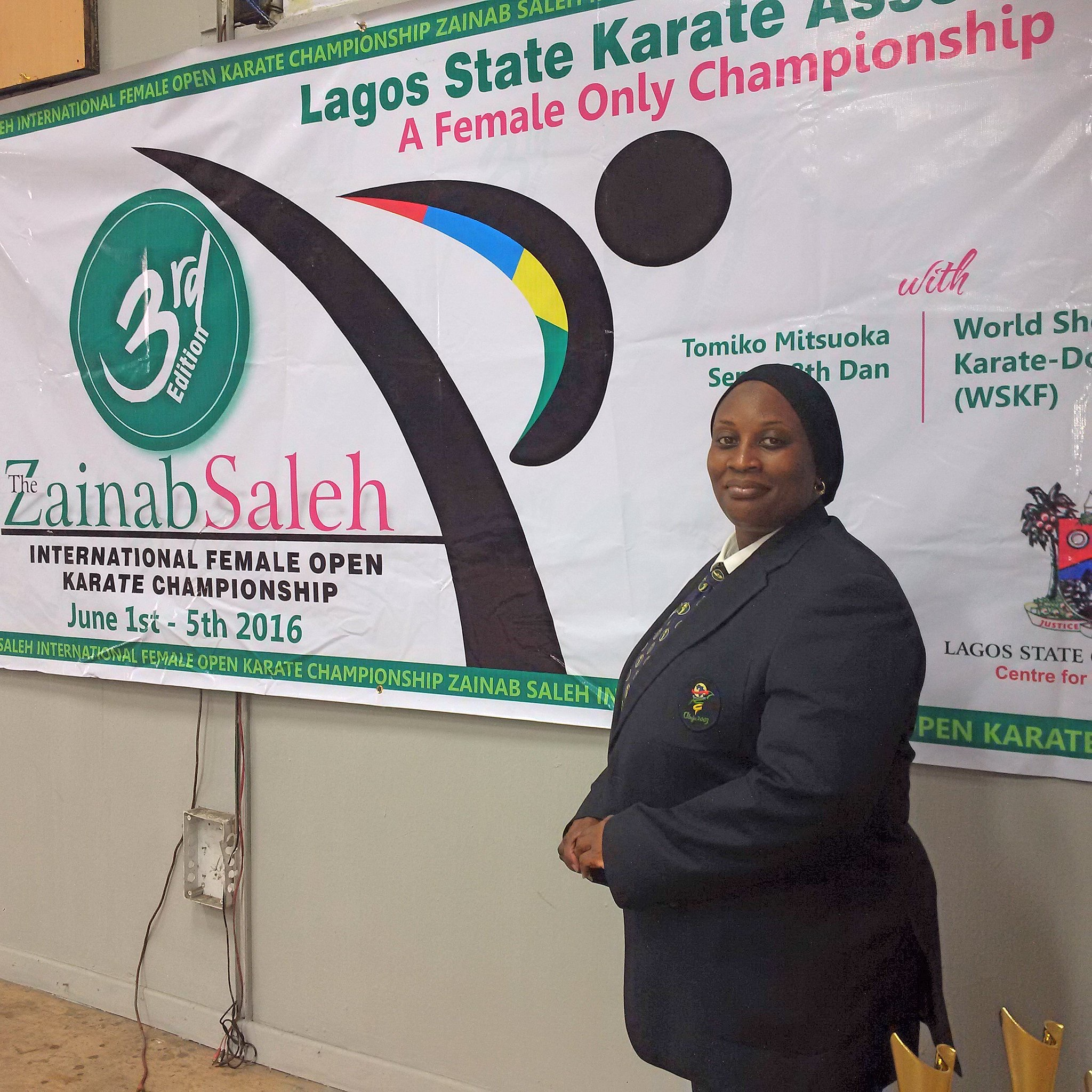 Zainab Saleh Int'l Female Open Karate Championship Ends In Style
