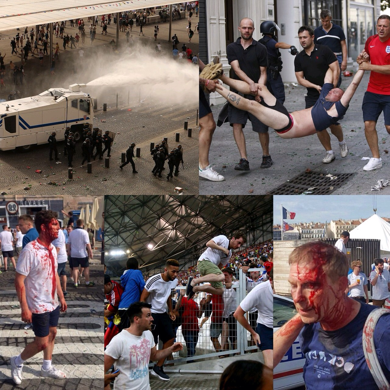 Euro 2016: UEFA Warns England, Russia Against Further Fans Trouble
