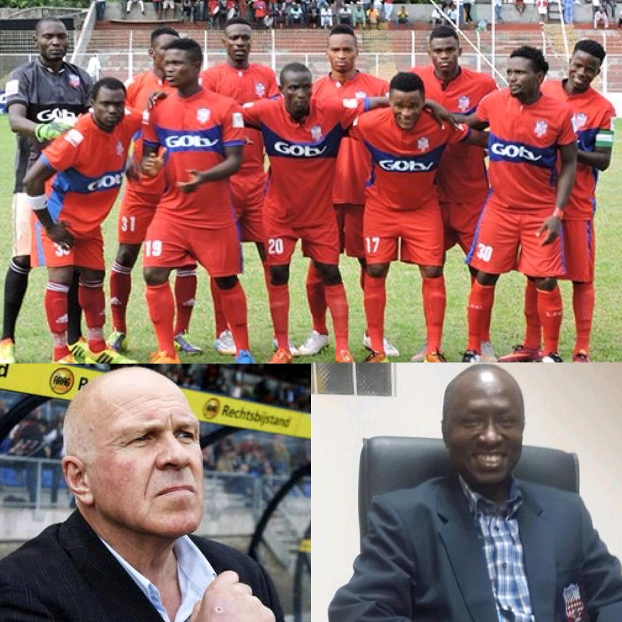 Ikorodu United Fire Okpodu; Hire Dutchman, De Jong