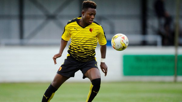 Watford U-18 Star, Obi Eyes First Team Action