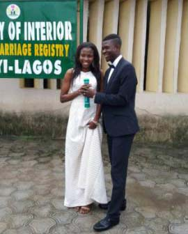 Ex-Eaglet Otubanjo Gets Married In Lagos