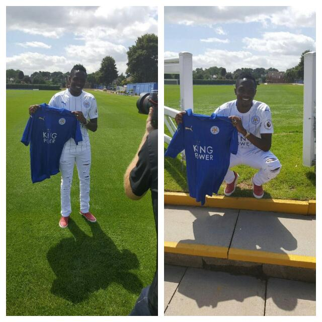 Musa Displays Leicester Jersey Ahead Of Unveiling
