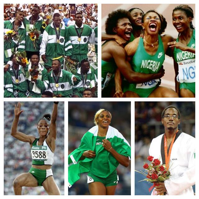RIO 2016: Nigeria's 10 Greatest Olympic Moments