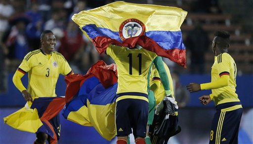 Nigeria Group Opponents Colombia Name Olympics Squad
