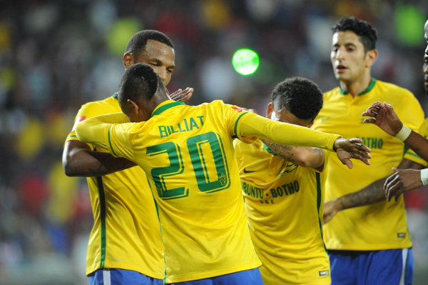 CAF CL: Sundowns Shock Zamalek In Cairo, Top Enyimba Group