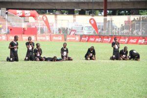 Asegun Boys during the penalties