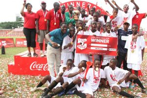 Asegun Boys celebrate their win