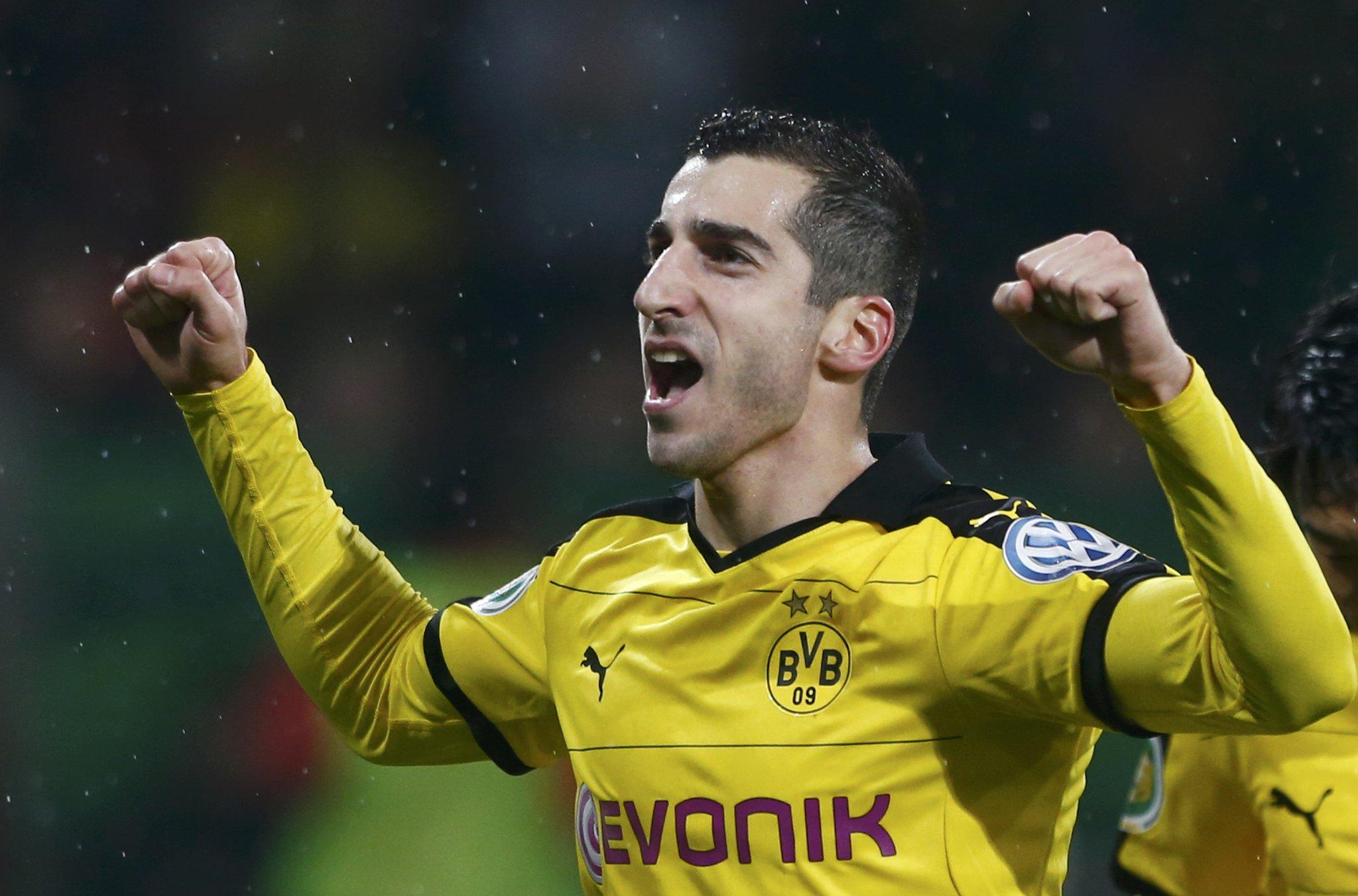 Dortmund Confirm Mkhitaryan Switch To Man United