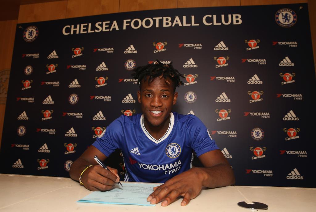 Batshuayi Joins Chelsea; Reveals Hazard, Courtois Influence