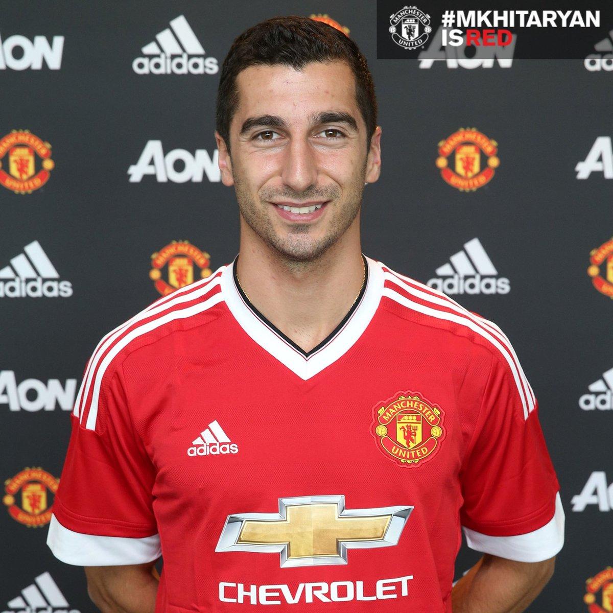 Man United Confirm Mkhitryan Signing