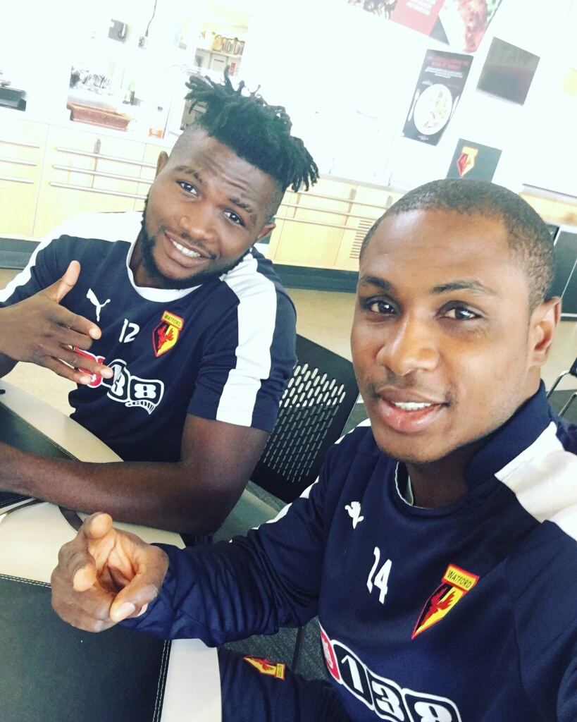 Image result for Isaac Success with Odion Ighalo