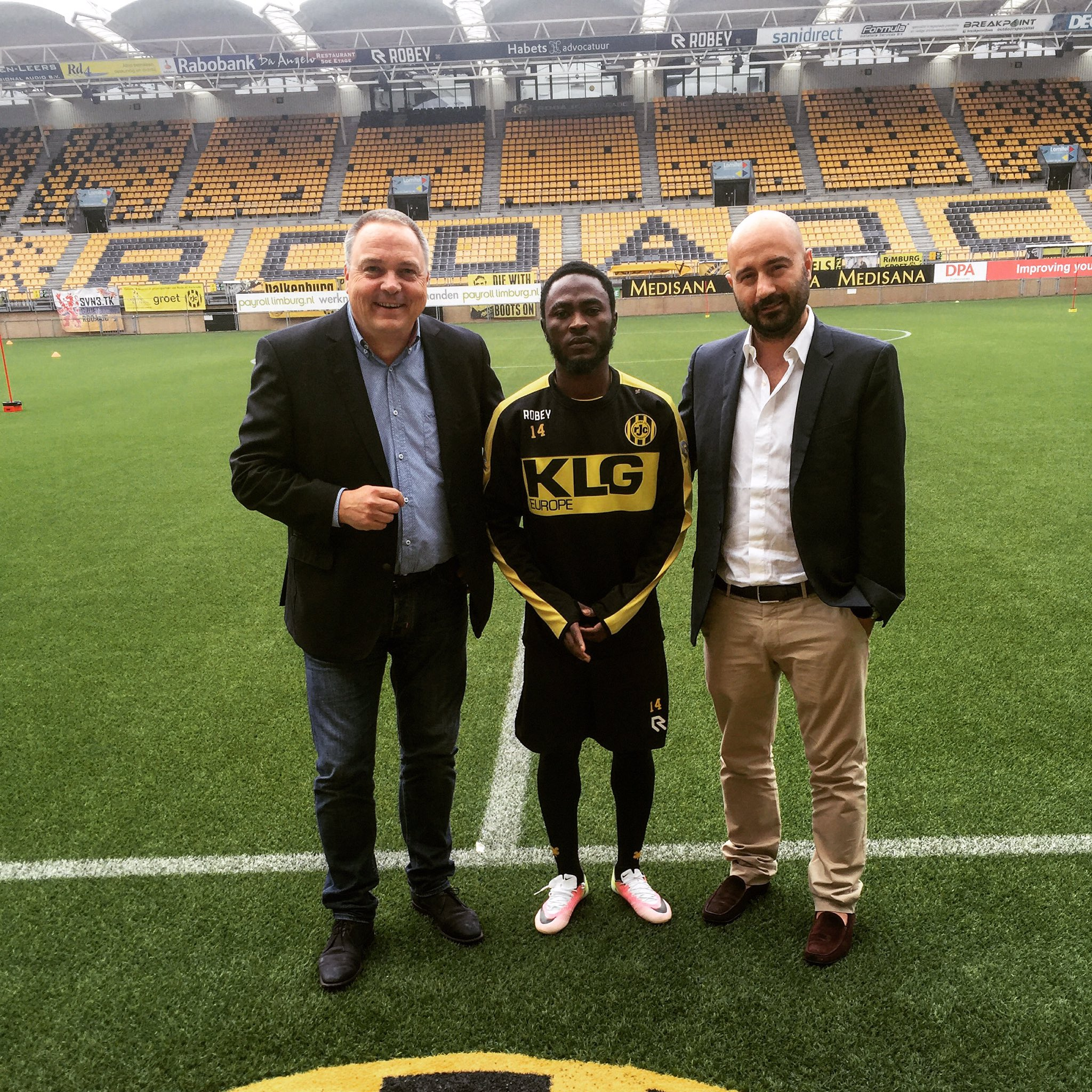 Ex-Flying Eagle Ajagun Joins Roda On Loan