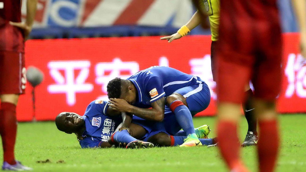 Martins, Taiwo Lament Over Demba Ba Leg Break