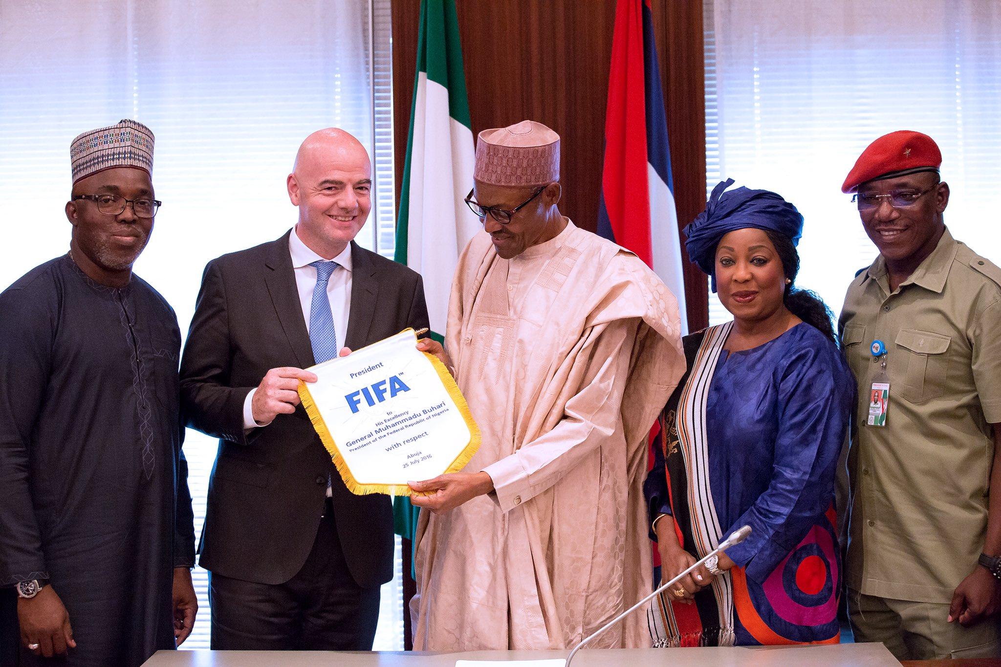 FIFA Secretary Samoura Calls For NFF Unity