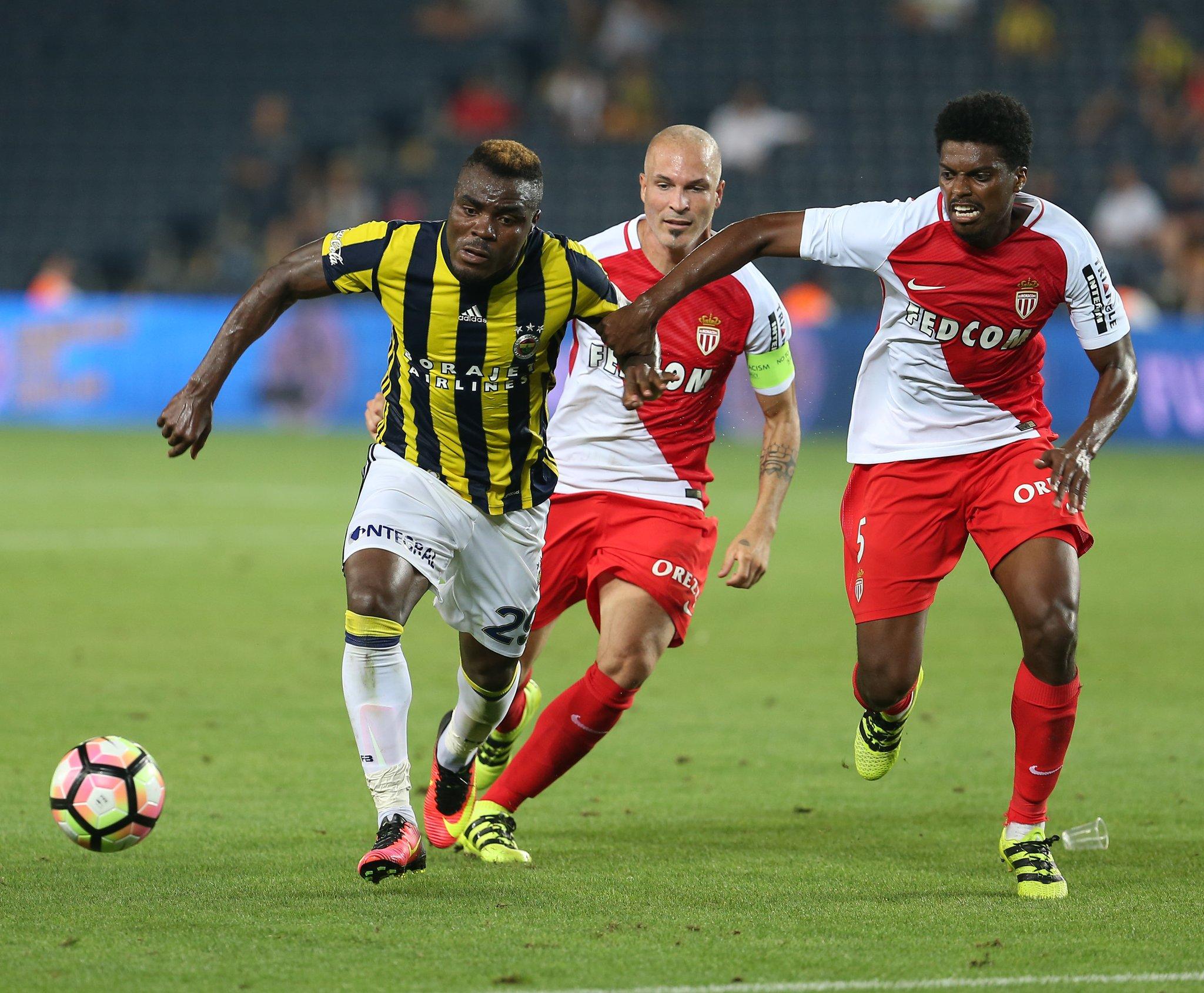 Emenike Hits Brace As Fenerbahce Edge Monaco; Ideye, Ogu Draw