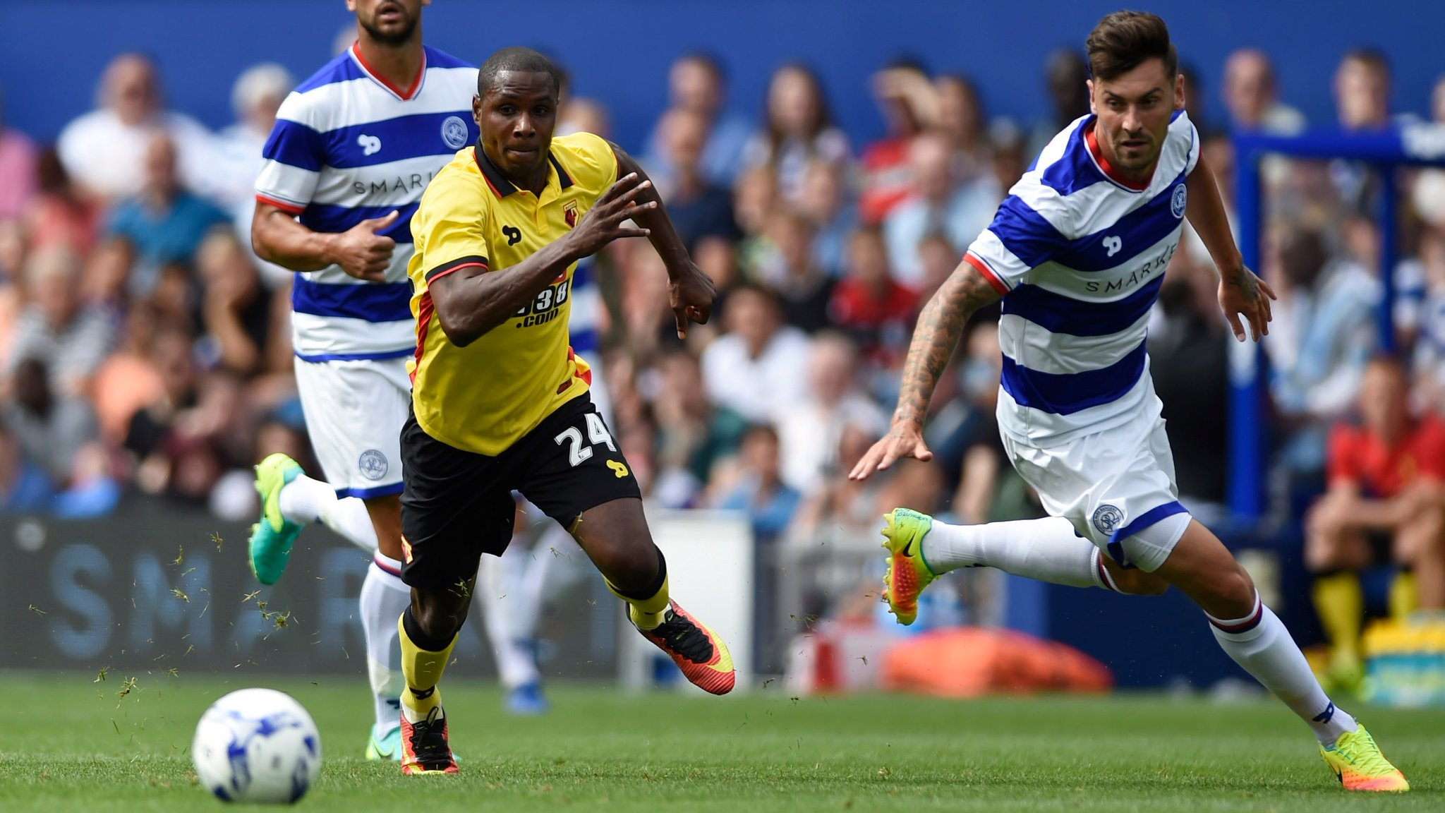Ighalo Unlucky, Success Subbed On As Watford Fall To QPR