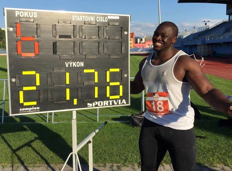 Mozia Sets New Nigeria Shot Put Record