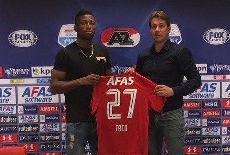 Nigerian Striker Fred Friday Joins AZ Alkmaar