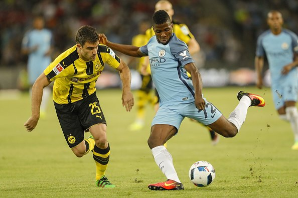 Iheanacho Impressive As Man City Beat Dortmund