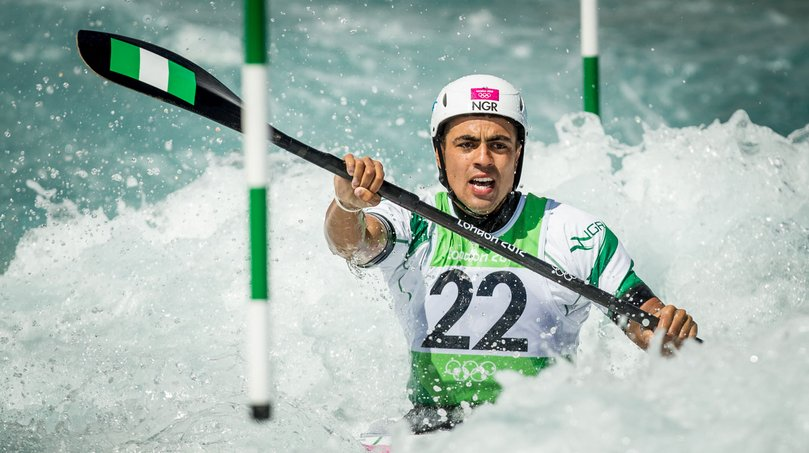 Nigeria's Akinyemi Crashes Out Of Rio 2016 Canoeing