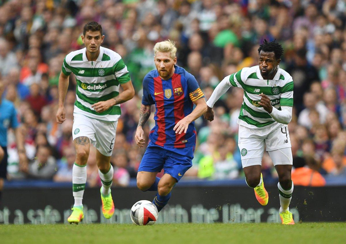 Ambrose Scores Own Goal As Messi-Led Barca Outsmart Celtic