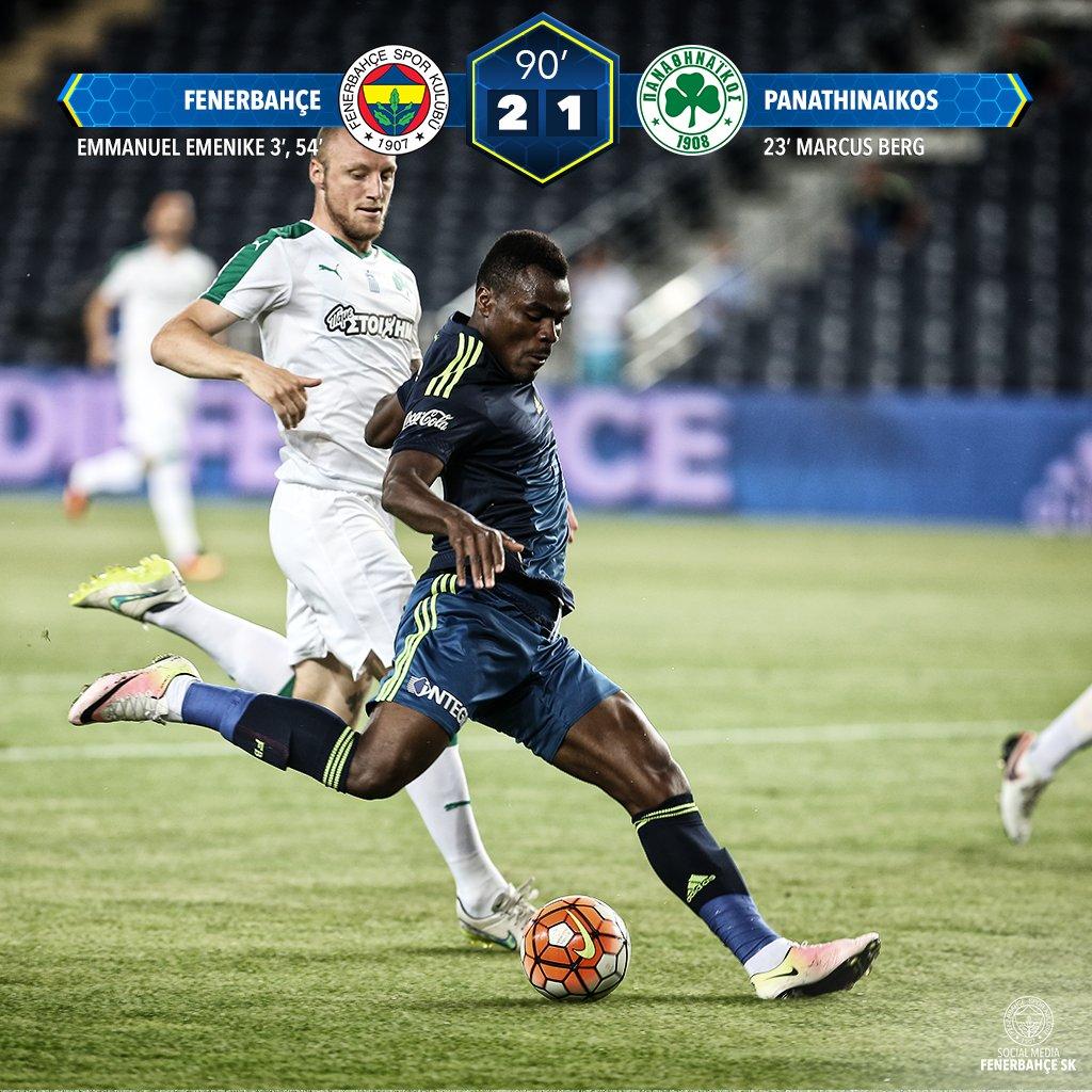 Emenike Bags 3rd Pre-Season Goal, Ideye Scores Again